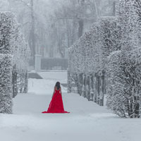 Winter. White, silence and dreams